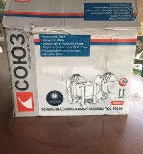 Точильно- шлифовальная машина тсс-60200 ( новая)