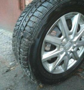 Dunlop 185/65/14 Зима шипы!!!комплект