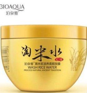 Разглаживающая маска для волос с рисовой водой