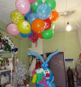 воздушные шары круглосуточно - Крош, цветы и шары