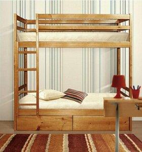 Кровать 2ярусная