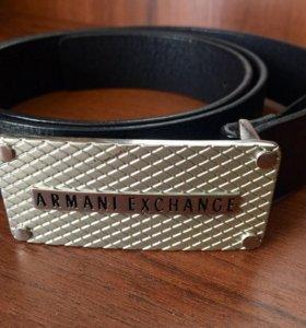 Мужской ремень Armani Exchange