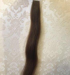 Волосы на тонких невидимых лентах