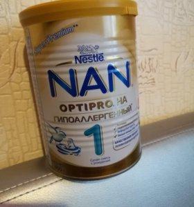 Смесь Nan 1 Optipro гипоаллергенный