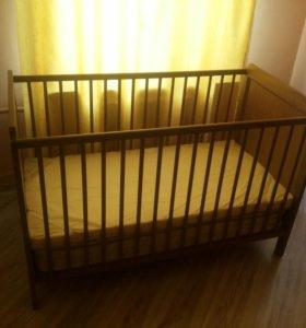 Кроватка Икеа от 0 до 3