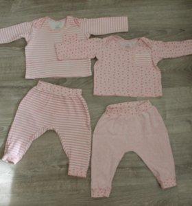Пижамы (пакетом 6 вещей). Размер 74
