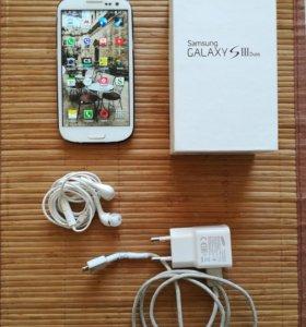 Смартфон Samsung Galaxy S3 Duos рабочий.