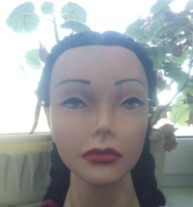 Голова для за плетения( причёсок )( тренировочная)