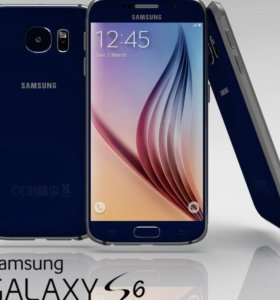 SAMSUNG Galaxy S6 - 64Gb + 2 чехла и бампер