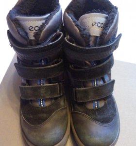 Ботинки зимние ecco Gore-Tex biom экко 34р-р