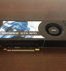 Видеокарта NVIDIA MSI GeForce GTX 970