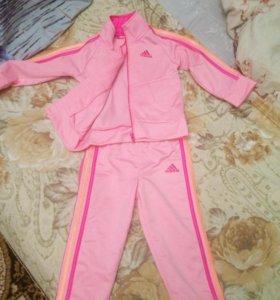 Спортивный костюм адидас для девочки