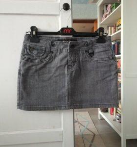 Джинсовая мини юбка Kira Plastinina