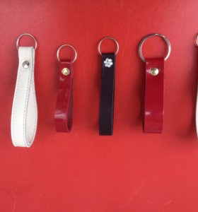 Кожаные ремешки для ключей и сумок!