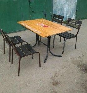 Столы и стулья для  дачи и  летних кафе