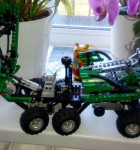 Лего техника, грузовик экскаватор