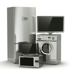 Ремонт бытовой техники, тв и стиральных машин.