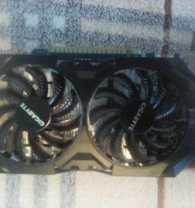 Видеокарта GeForce gtx 750 ti.