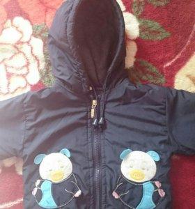 Продам куртку на 6-9 месяцев