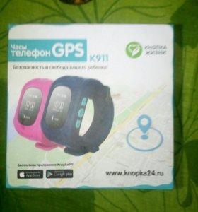 Часы телефон GPS. К911.