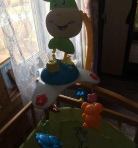Детский мобиль карусель на кроватку
