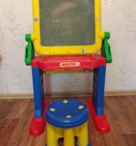 Детский столик-доска