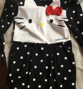 Платье H&M hello kitty