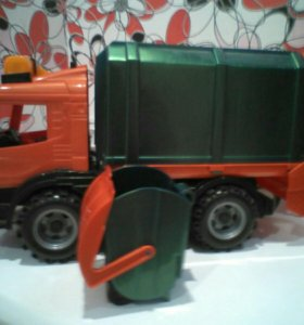 Детская машина мусоровоз scania