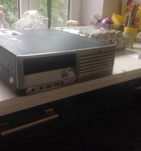 Брендовый системный блок HP для работы