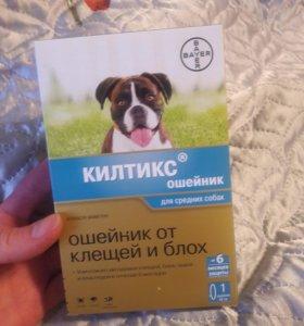 Ошейник для собак от клещей Килтикс