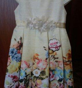 Платье новое р116-122