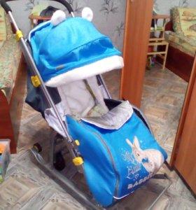 Санки-коляска. Ника детям 7-2