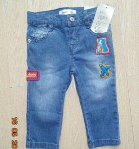 Новые джинсы GeeJay 80, 92 размеры