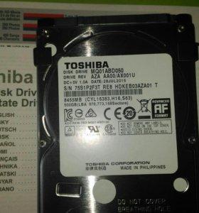Новые жесткие диски для ноутбуков