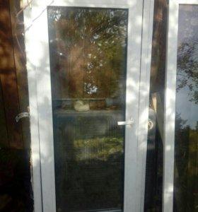 Окно с рамой 145х67