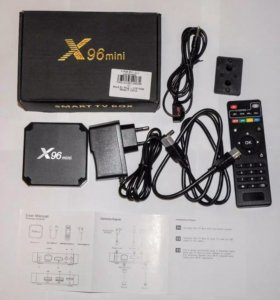 X96 mini1/8 2/16 tv box смарт приставка андроид тв