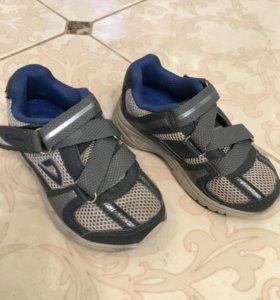 Кроссовки Demix для мальчика. Б/у. Размер 25