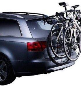 Велобагажник Thule на два велосипеда
