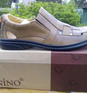 Мужские новые туфли лето
