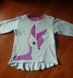 Кофточка для девочки 3-4 лет