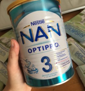 Молочная смесь Nan 3 Optipro 400 г