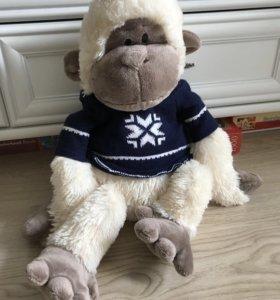 Мягкая плюшевая игрушка обезьянка Budy Basa