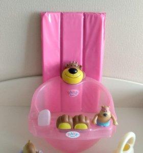 Ванночка Baby Born Zapf Creation с аксессуарами