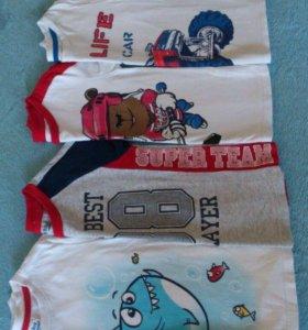 футболки 4-5лет