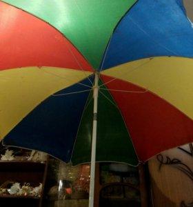 Пляжный зонт большой