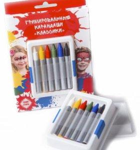 Набор гримировальных карандашей Классики