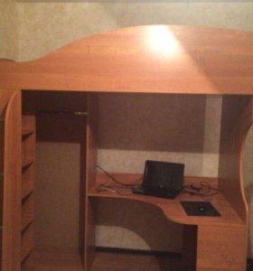 Кровать-шкаф-стол