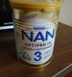 Смесь Nan 3 гипоаллергенный невскрытая