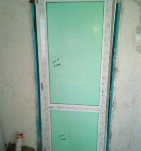 Монтаж окон и дверей.