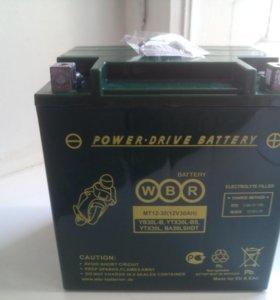 Аккумуляторная батарея гелевая,для гидроцикла,.